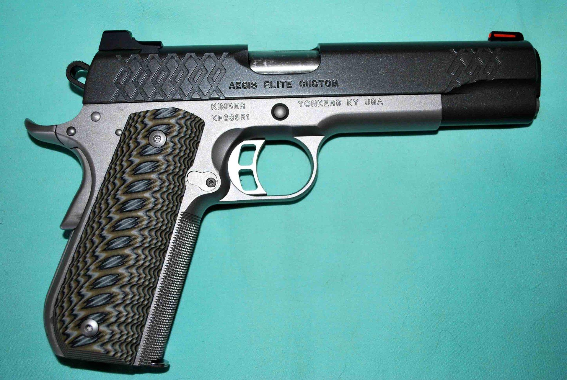 Custom Arizona AZ USA Full Size 1911 Grips